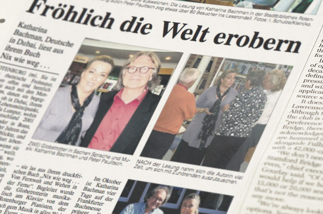 Katharina Bachman Zeitung
