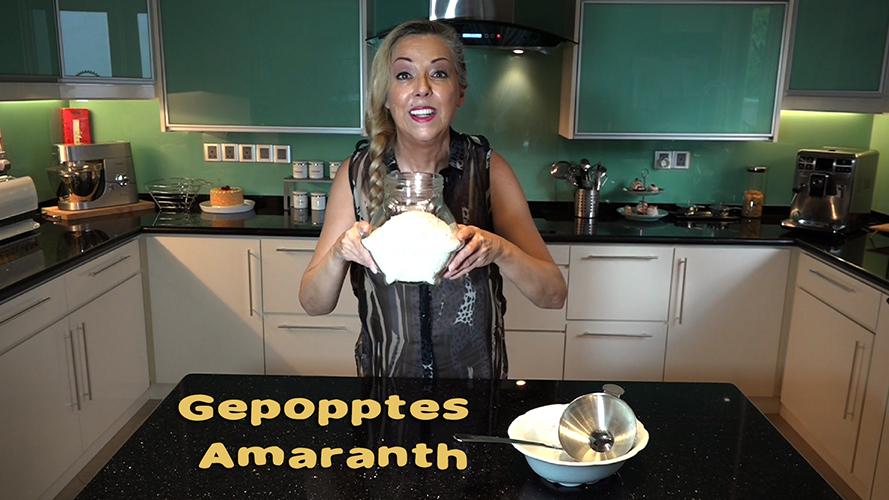 Amaranth poppen
