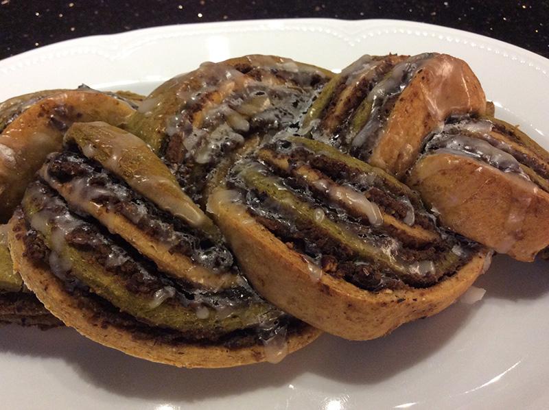 Süßes-Matcha-Brot