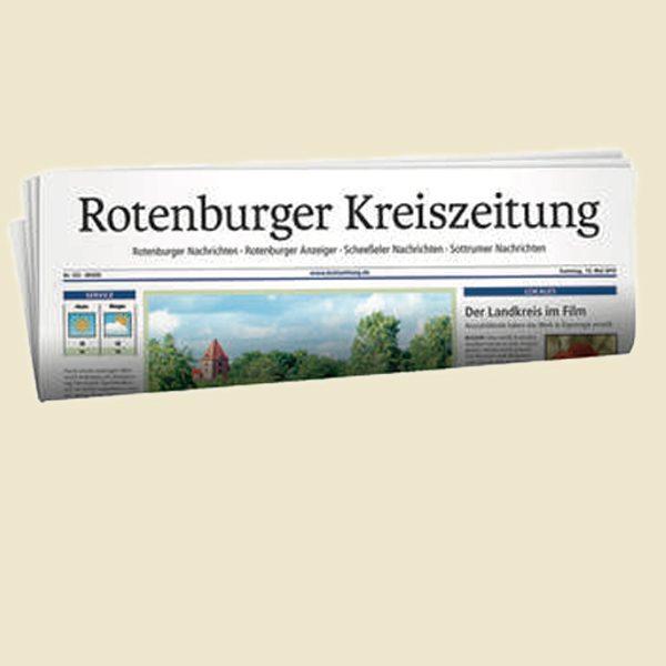 Rotenburger Kreiszeitung<br />Nix wie weg …
