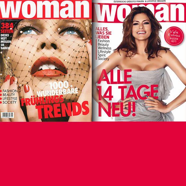 Zeitschrift WOMAN<br />SOS – Schlank ohne Sport